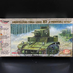 "1/72 M3 US Light Tank ""First Hundred"""
