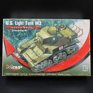 1/72 US Light Tank M3, Luzon 1942
