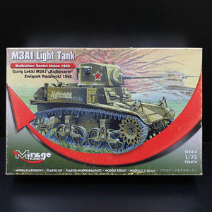 1/72 M3A1 Light Tank, 'Kuibishev' Soviet Union 1942
