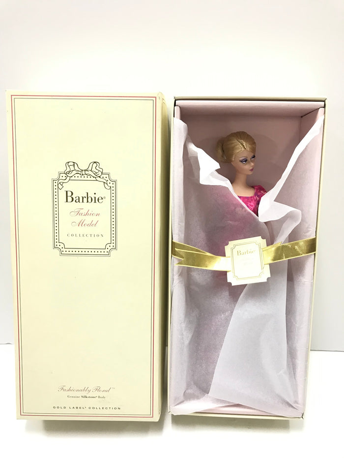 Fashionably Floral™ Barbie® Doll (CGK91)