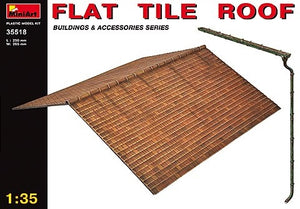 1/35 FLAT TILE ROOF, Buildings & Accessories Series