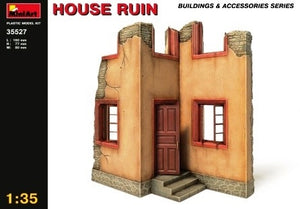 1/35 House ruin, Building & Accessories Series