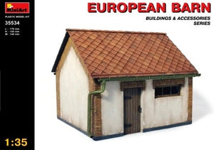 1/35 European barn, Building & Accessories Series