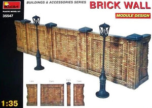 1/35 Brick Wall, Building & Accessories Series