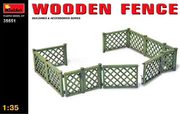 1/35 Wooden Fence
