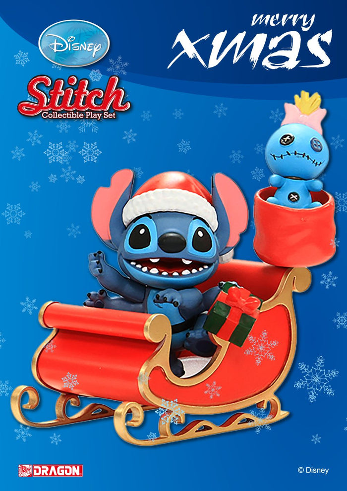 Disney Lilo & Stitch - Christmas Series Playset