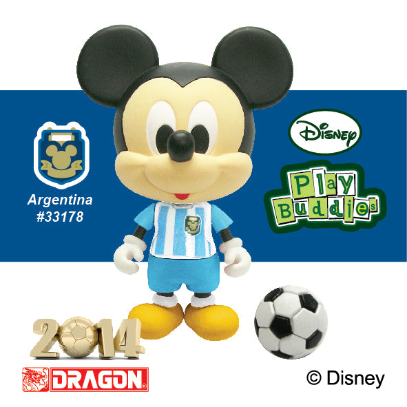Disney Play Buddies Collection -World Cup Series Mickey (Argentina)