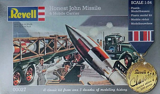 1/54 Honest John Missile & Mobile carrier