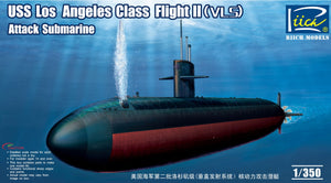 1/350 USS Los Angeles Class Flight II (VLS) Attack Submarine
