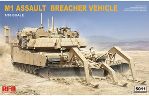 1/35 M1 Assault Breacher Vehicle (ABV) M1150 with Mine Plow