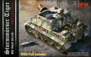 1/35 Sturmmorser Tiger W/ Full Interior