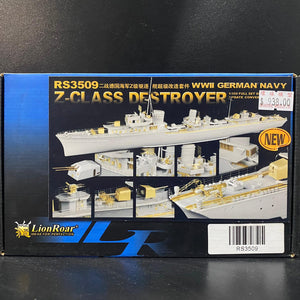 1/350 German Navy Z-Class Destroyer Super Detail Update Set