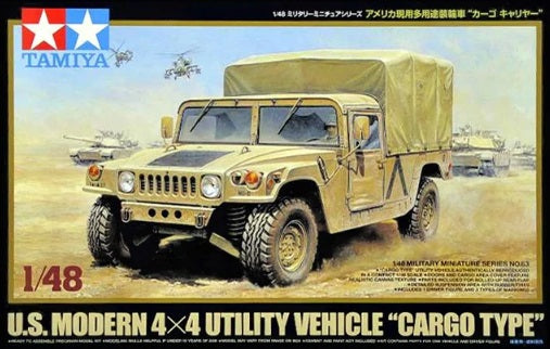 "1/48 US Modern 4x4 Utility Vehicle ""Cargo Type"""