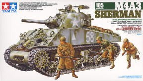 1/35 U.S.Medium Tank M4A3 Sherman 105mm Howitzer