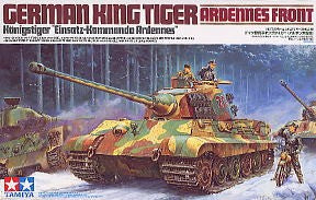 1/35 German Tiger II Ardennes Front
