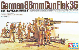 "1/35 German 88mm Gun Flak36 ""N. African Campaign"""