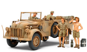 1/35 German Steyr Type 1500A/01 & Africa Corps Infantry