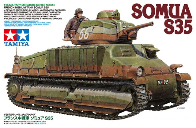 1/35 French Medium Tank SOMUA S35