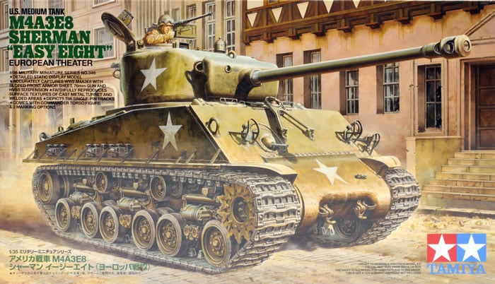 "1/35 M4A3E8 Sherman ""Easy Eight"""