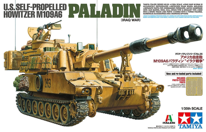 1/35 US SELF-PROPELLED HOWITZER M109A6 Paladin (Iraq War)