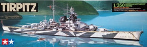 1/350 German Battleship Tirpitz