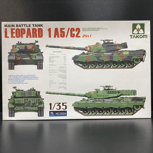 Takom 1/35 2004 MAIN BATTLE TANK LEOPARD 1A5/C2
