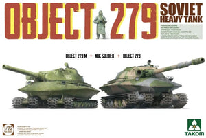 1/72 Soviet Heavy Tank Object 279 (Object 279M + NBC Soldier + Object 279)