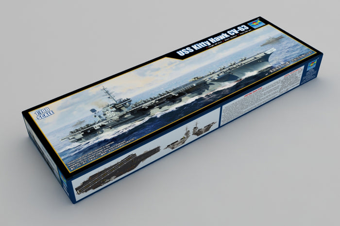 1/700 USS Kitty Hawk CV-63