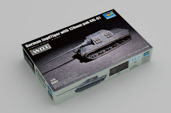 1/72 German JagdTiger with 128mm pak 44L-61
