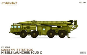 1/72 Soviet 9P117 Strategic Missile Launcher SCUD C