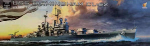 1/350 U.S. Navy Light Cruiser USS Birmingham CL-62