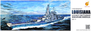 1/700 USS Louisiana BB-71
