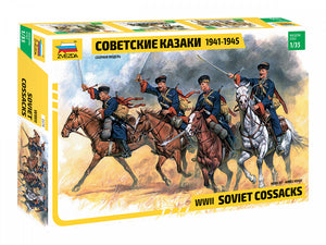 1/35 Soviet cossacks 1941-1945