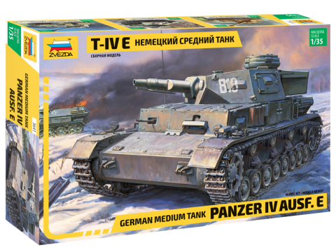1/35 German medium tank Panzer IV Ausf.E