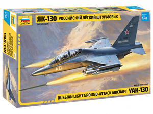 1/48 Russian light ground-attack aircraft YAK-130