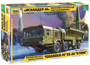 "1/72 Russian Ballistic Missile System ""Iskander-M"" SS-26 ""Stone"""