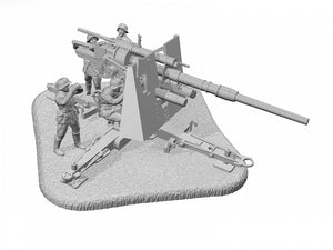 1/72 German Heavy Anti-Aicraft Gun FLAK 36/37