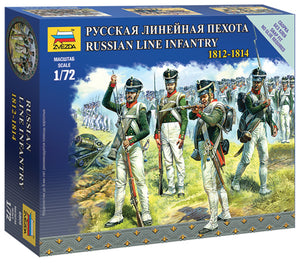 1/72 Russian Line Infantry 1812-1814