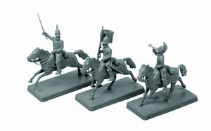 1/72 Russian Dragoon Command Group 1812-1814