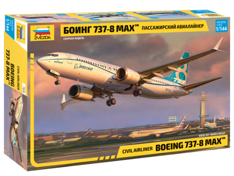 1/144 Civil Airliner Boeing 737-8 MAX
