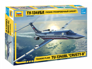 "1/144 Training Plane TU-134UBL ""CRUSTY-B"""