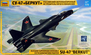 "1/72 Russian Supermaneuverable Fifth Generation Fighter SU-47 ""Berkut"""