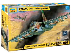 1/72 Soviet attack aircraft Su-25 Frogfoot