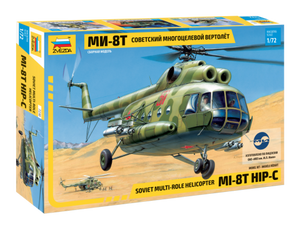 1/72 Soviet Multi-Role Helicopter Mi-8T Hip C