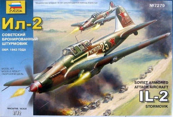 1/72 Soviet Armored Attack Aircraft IL-2