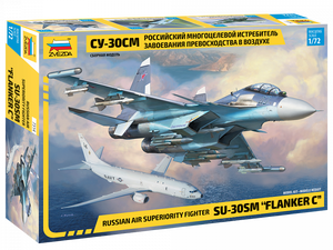 "1/72 Russian air superiority fighter SU-30SM ""FLANKER C"""