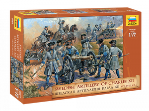 1/72 Swedish Artillery of Charles XII (XVII-XVIII A.D.)