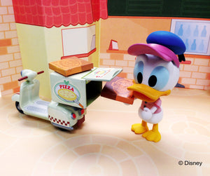 Disney Play Buddies Collection - Pizza Series (Donald) Playset
