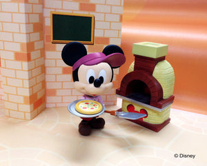 Disney Play Buddies Collection - Pizza Series (Mickey) Playset