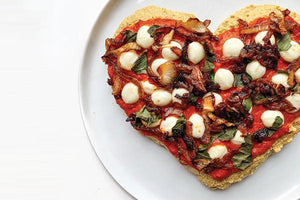 Loaded Gluten Free Veggie Pizza with Love
